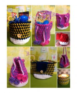 Jelly Bean Pursket (a purse & basket in one!) & Jelly Bean Egg Hunter Bag!
