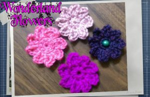 Wonderland Flowers Free Crochet Pattern