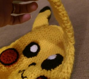 Free Pokemon Pikachu Inspired Hat Crochet Pattern