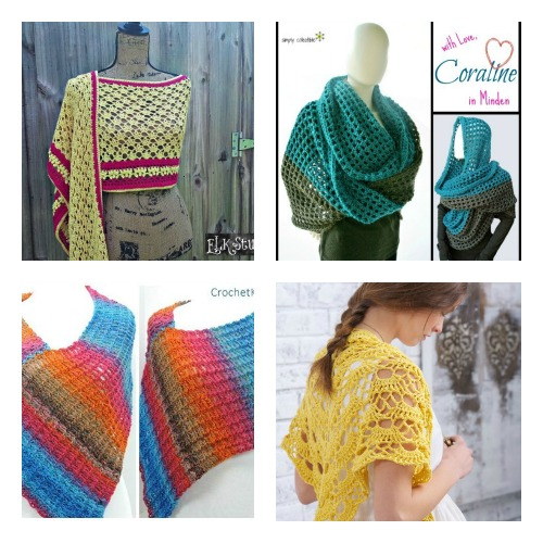 Contest Reminder & Fun FREE Crochet Wrap Patterns! - YarnWars.com