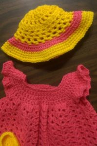 This is my work up of the Coraline Sun Hat.