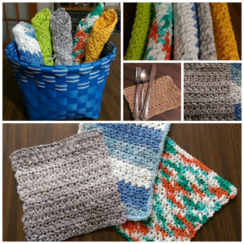 The Exfoliator Spa & Kitchen Cloth - FREE Crochet Pattern - YarnWars.com
