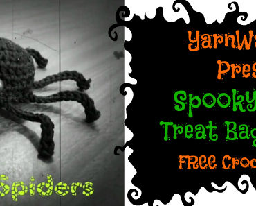spider treat bag and halloween contest