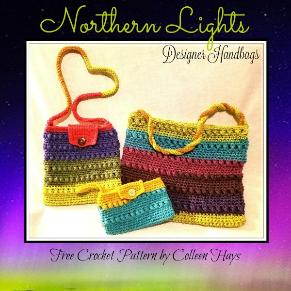 Northern Lights Handbags Crochet Pattern Yarnwars