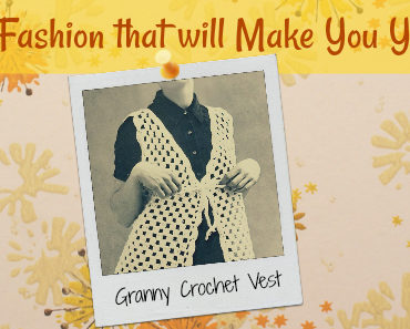 Granny Crochet Vest Feature